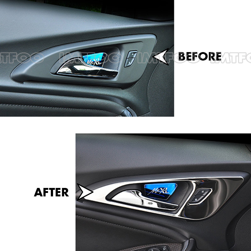 Car Inner Door Handle Trim Sticker Interior Molding For Chevrolet Malibu Xl 2017 Accessories Styling In Mouldings From Automobiles