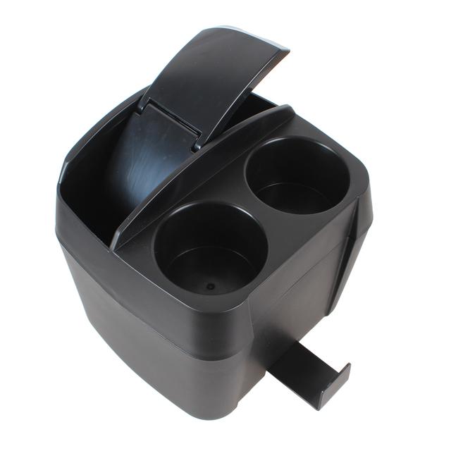 Multifunción 3 en 1 Coche Negro Portavasos Bebida Botella Puede cubo de Basura Basura Coche Accesorios Interior Accesorios
