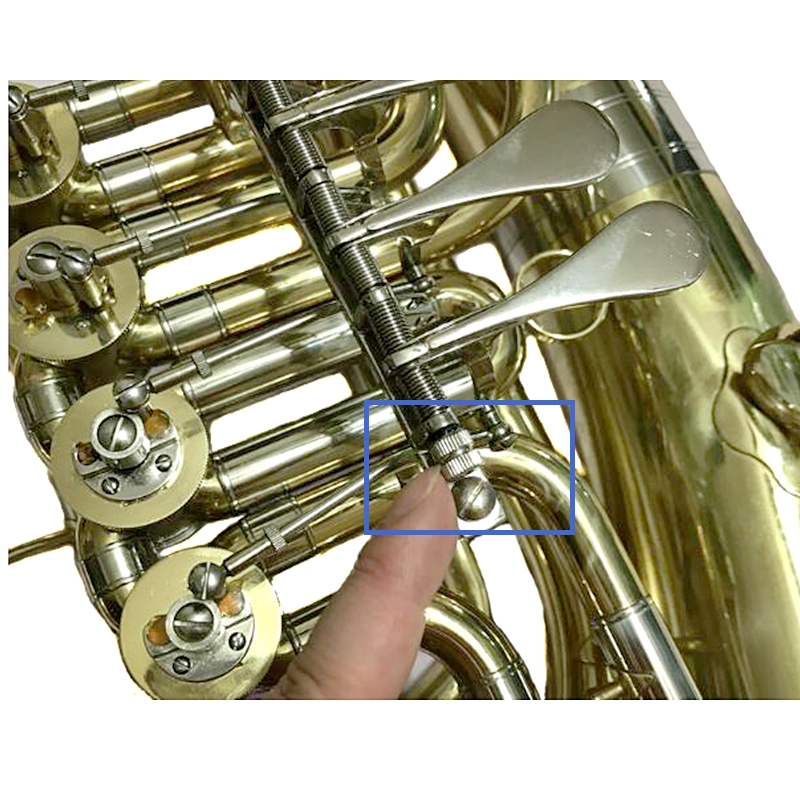 Baritone chifre parafuso de bronze instrumentos musicais acessórios