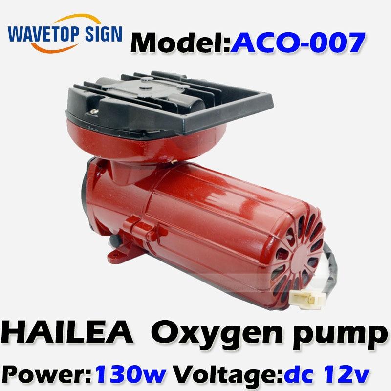 oxygen pump Haili 130W  ACO- 007 DC 12V  140L/min permanent magnet-type air compressors 8 l min electric diaphragm 12v dc mini air pump brush