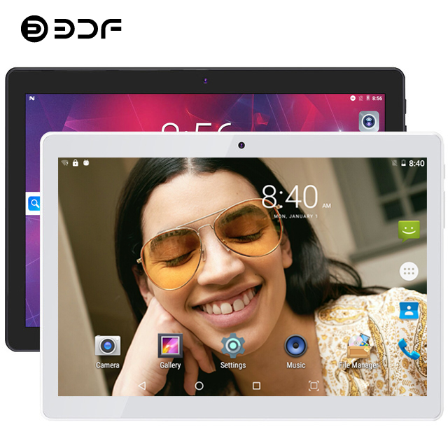 BDF Tablet 2020 New 10 Inch 4G LTE Tablet PC Ten Core 8GB RAM 128GB ROM 5MP 1280*800 IPS Tablette 10.1 Tablets Android 9.0+Gifts