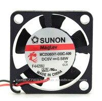 YENI SUNON MC25060V1-000C-A99 dc5v 0.58 W Maglev soğutma fanı