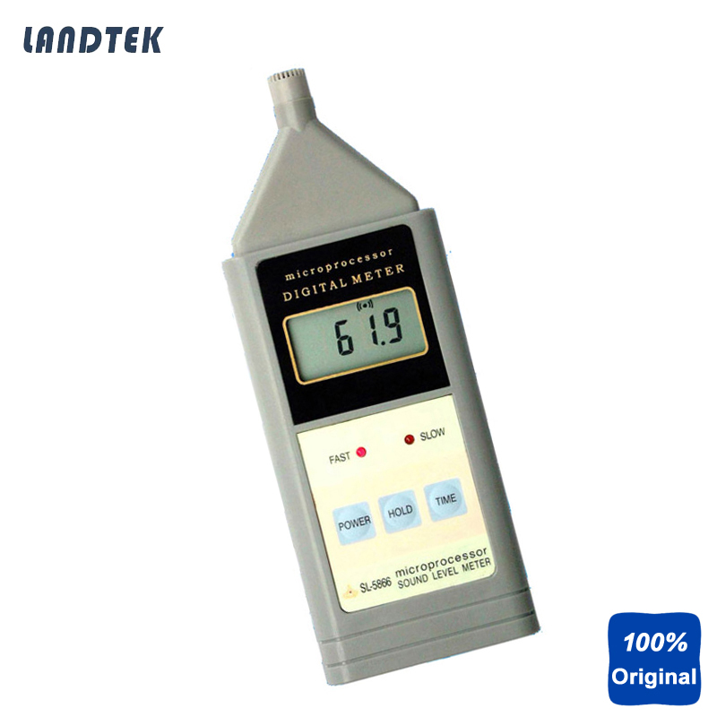 Digital Sound Velocimeter Noise Level Meter SL-5866 220вольт скил 5866 аф