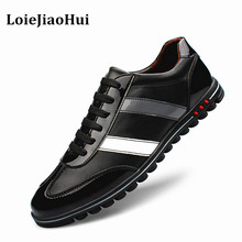 2016 New Fashion Men Casual Genuine Leather Shoes High Quality Men Brogues Oxford Flats Shoes Luxury Brand Dress Board Shoes