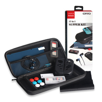 13 in 1 Super Kits (Case / Screen Film / Earphone / Storage Bag / Switch SD card box) For Nintend Switch