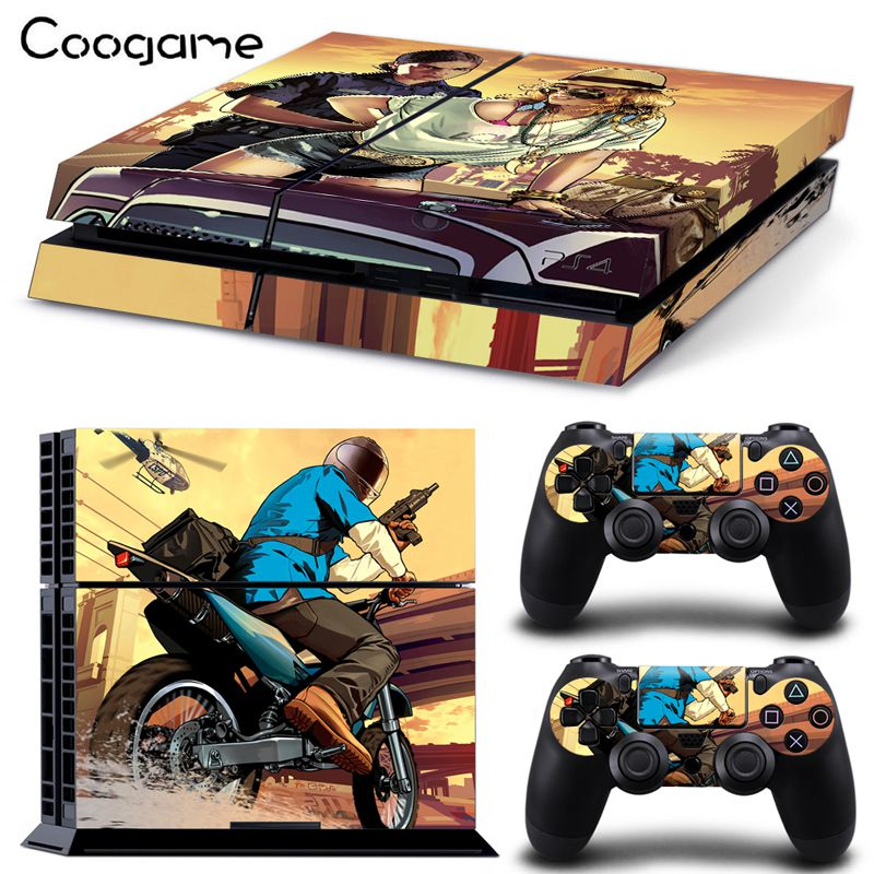 GTA Sexy Sticker For PS4 Sticker For Sony Palystation 4 Console For Play Station font b