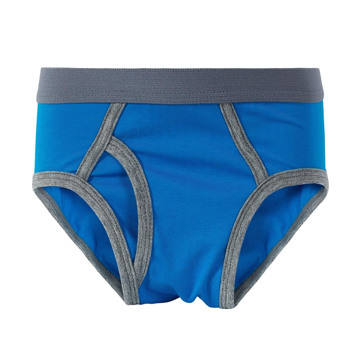 5pcs lot Solid Color Boy Panties Cotton Children Breathable Underwears Boxer Panties For Boys Kids Shorts Pants 2018 New panty