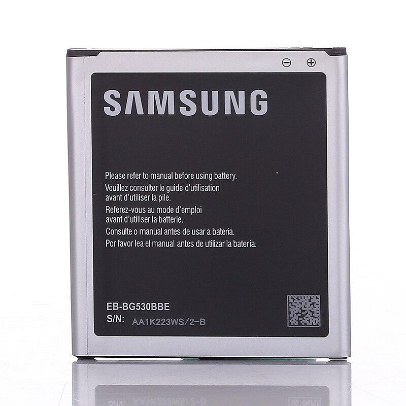 Original Replacement Battery baterias J3 J5 batterie 2600MAH EB-BG530BBE For Samsung Galaxy G530 G530F G530FZ Grand Prime G530Y