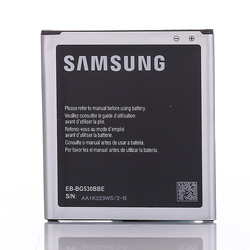 Reemplazo Original baterias J3 J5 batería 2600 mAh EB-BG530BBE para Samsung Galaxy G530 G530F G530FZ Grand Prime G530Y