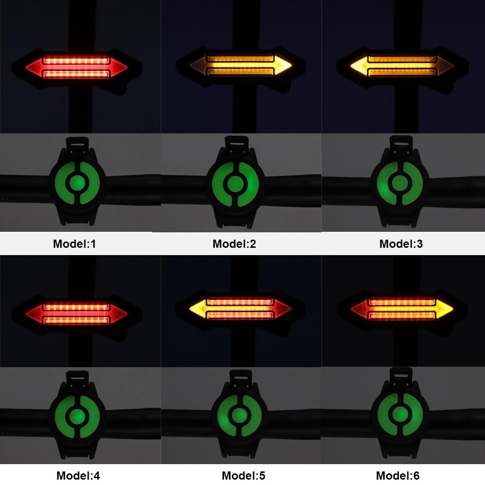 6.remote control bike tail light