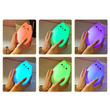 Cute Silicone Cat Rechargeable LED Work Light