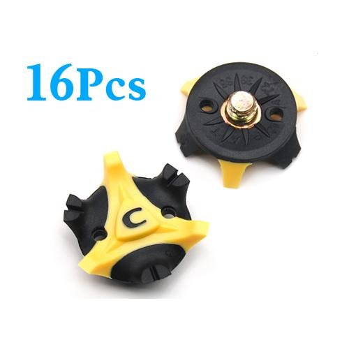 16 Comfort Universal Ice, Snow Anti-Slip No Slip Golf Shoe Spikes Grips Needs