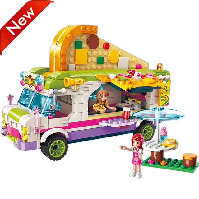 Building blocks toy car romance 319 pieces