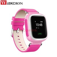 Mini GPS tracker kids Smart watch MTK6261 Wrish watch GSM/GPRS/GPS 2GSM sim slot SOS Emergency Anti Lost GPS tracker