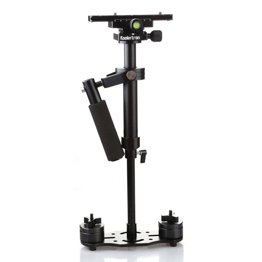 New S60+ 60cm Aluminum Handheld Steadycam Stabilizer For Steadicam for Canon for Nikon for GoPro AEE DSLR Video Camera