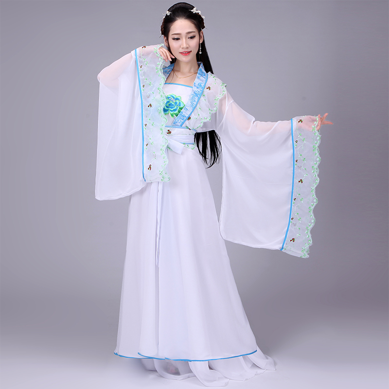 Ancient Chinese Costume Hanfu Cosplay Traditional Oriental Costumes Women Fairy Princess Dress Dancer Stage Dance Wear DNV10953