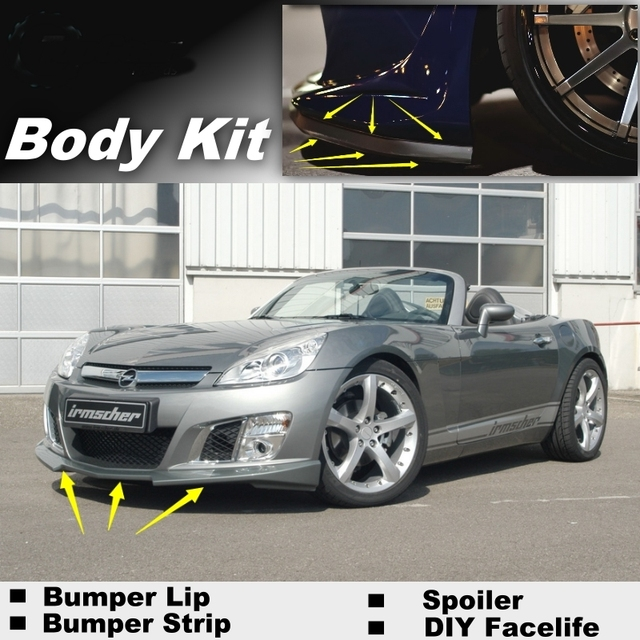 Bumper Lip Deflector Lips For Opel GT For Saturn Sky For Daewoo G2X  2007~2010