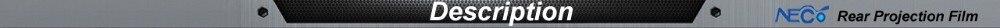 Лучшая Цена Высокое разрешение самоклеющиеся серый задний проектор пленка/3D голографические проекции экран Фольга