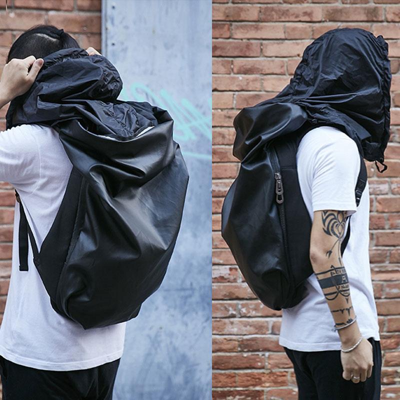 KALIDI Vodootporna torba za prijenosno računalo 15.6 inčni ruksak za muškarce Crna torba za ruksak za školu za školu