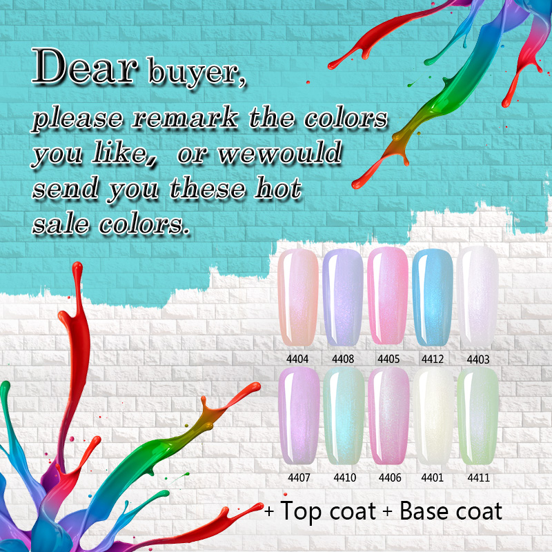 12 Pcs Kit IBDGel 15ML Nails Colors Gel Penggilap Set Shinning Pearl - Seni kuku - Foto 6