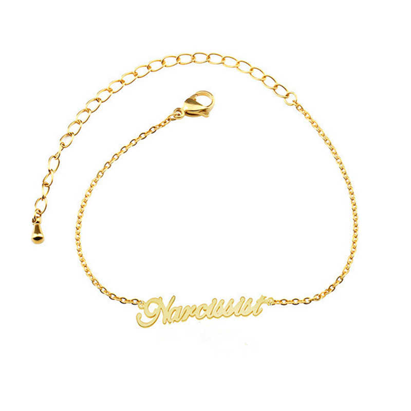 878c0e275c6f18 ... Personalized Custom Name Women Anklet Bracelet Foot Jewelry Handmade  Any Letter Alphabet Chain Anklets Birthday Gifts ...