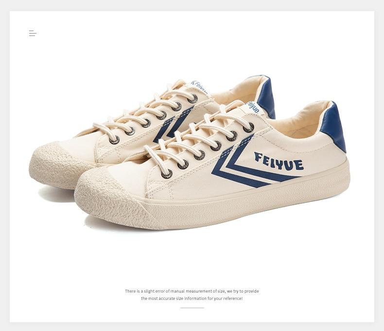 Feiyue shoes New classic Martial arts Tai Chi canvas shoes Rubber shoes men women sneakers 13