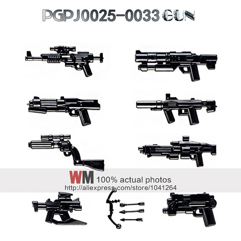 PGPJ0025 PGPG0033 Blaster Boba Fett pistolet flèche Halo