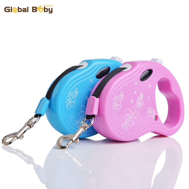 New Arrival Hot Sale Brand 3M Automatic Retractable Environmental Protection ABS Dog Leads Pet Leashes
