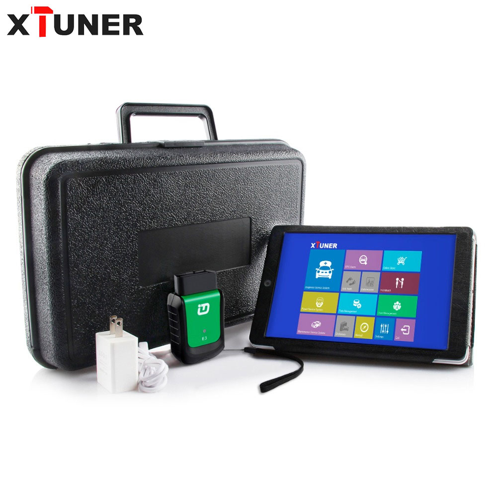 Original XTUNER E3 wifi V9.2 with 8 inch Tablet Full System OBDII Diagnostic Scanner support multi-language diagnostic tool obd2 vdm ucandas wifi full system automotive diagnostic tool multi language newest version v3 73 include for h onda adapter