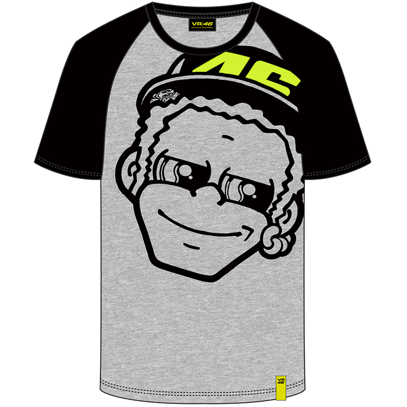 free shipping 2018 Valentino Rossi VR46 THE DOCTOR Gray T Shirt MEN Sport VR 46 THE DOCTOR Shirt