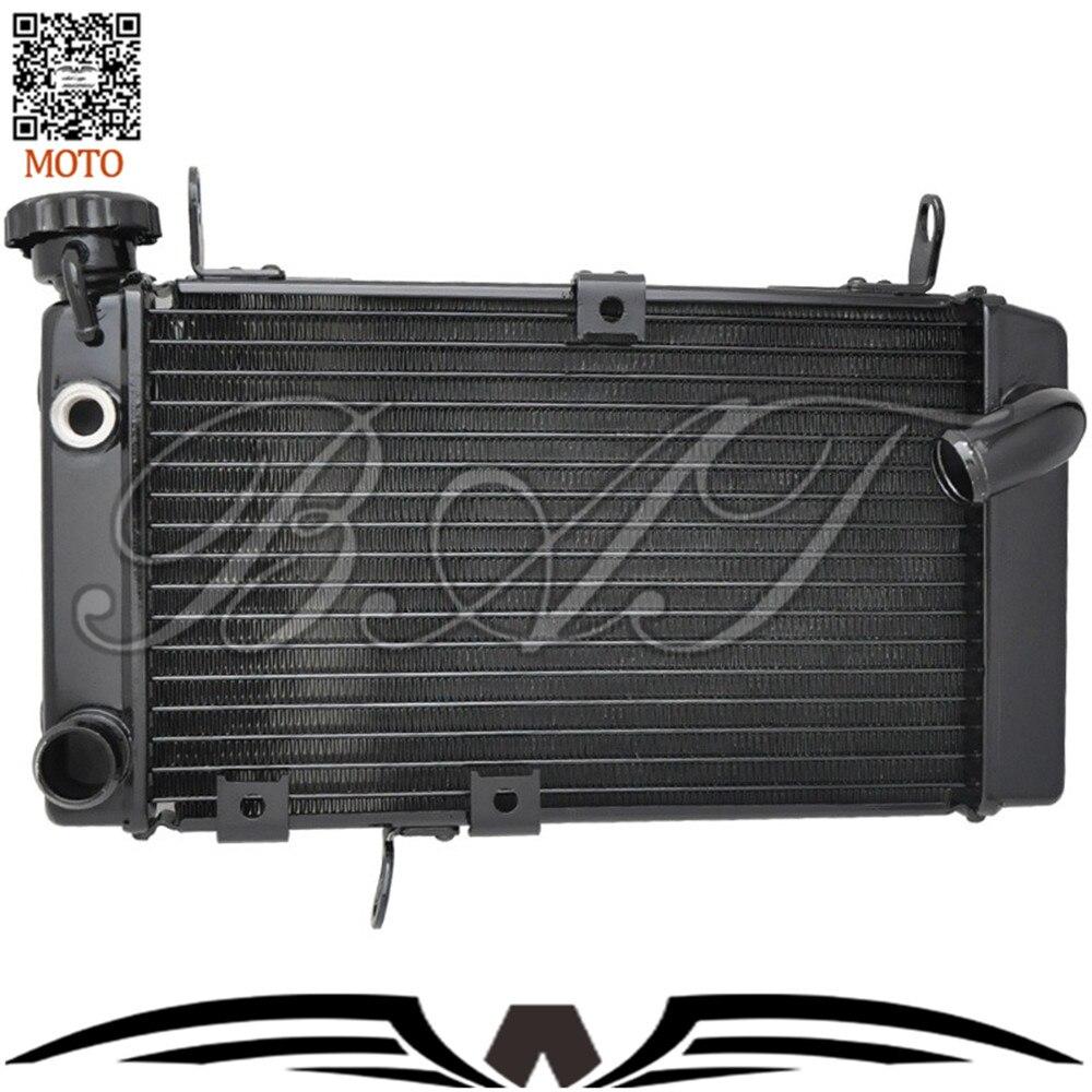 Motocicleta Accesorios de Refrigeración Refrigerador De Aluminio Radiadores Para