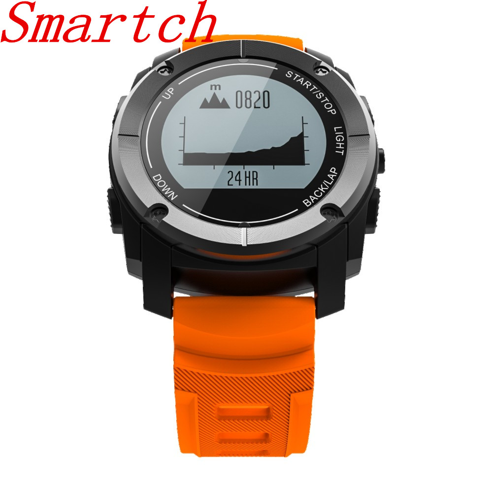 Smartch S928 GPS Outdoor Sports Smart Watch IP66 Life Waterproof with Heart Rate Monitor Pressure for Android4.3 IOS 8.0 aboveSmartch S928 GPS Outdoor Sports Smart Watch IP66 Life Waterproof with Heart Rate Monitor Pressure for Android4.3 IOS 8.0 above
