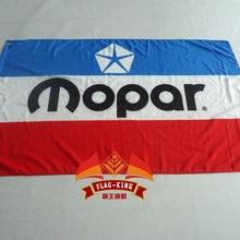 Винтаж MOPAR красный белый синий флаг 3x5 футов баннер 100D полиэстер флаг латунные втулки