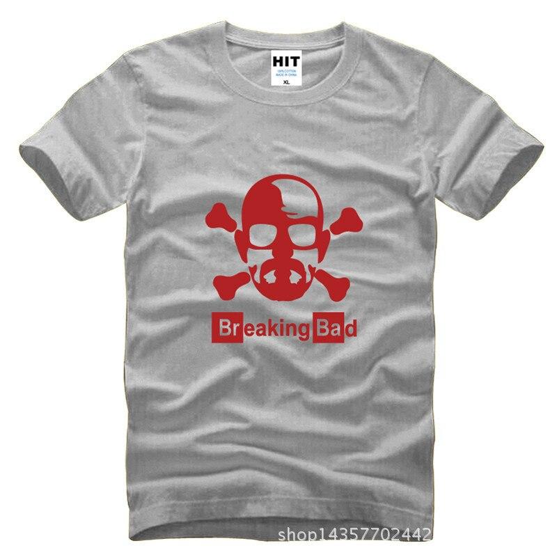 ②Breaking Bad Уолтер Уайт с принтом черепа Для мужчин S Для ...