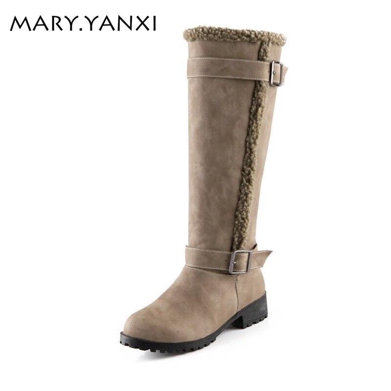 Mehke usnjene modne zaponke ženske škornje quare pete koleno visoke - Ženski čevlji