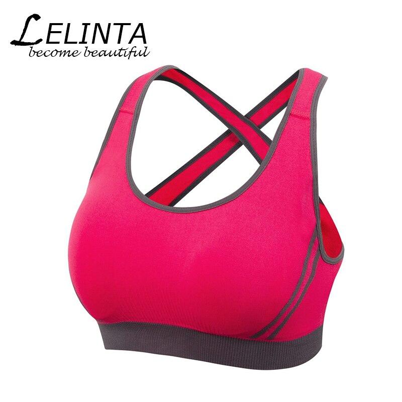USPS Drop Ship Absorver Sweat Sport Bra For Women Gym Running Yoga Sport Bra Set Girl Underwear S M L XL Free Shipping 9