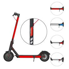 General Scooter Sticker For Xiaomi M365 Reflective Film Pedal Electric Accessories