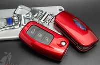 5 Colors Car Key Shell Flip Painted Folded Key Cover Case For Ford Fiesta Ecosport Focus