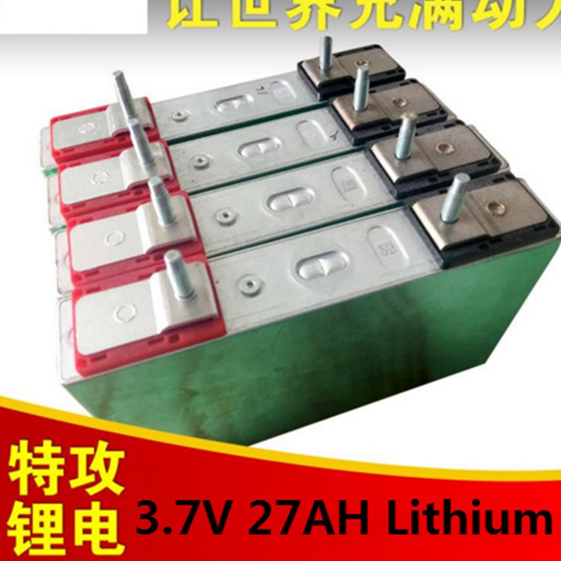 Battery 5C 3 7V High Discharge Rate 3 7V 27Ah Battery Lithium Ion 30ah Bateria for
