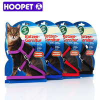 Hot Cat Leash I Shaped Small Type Dog And Cat Red Black Navy Purple