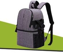 DSLR rucksack Foto Kamera Tasche Fall Für Canon EOS RP R 5Ds 5D Mark IV III 6D 7D Mark II 2 70D 77D 80D 4000D 2000D 50D 60D 40D