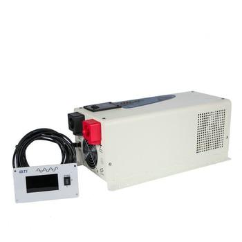 Buen precio baja frecuencia fuera de la red tipo 1500w onda sinusoidal pura 12v 24v dc a ac inversor cargador