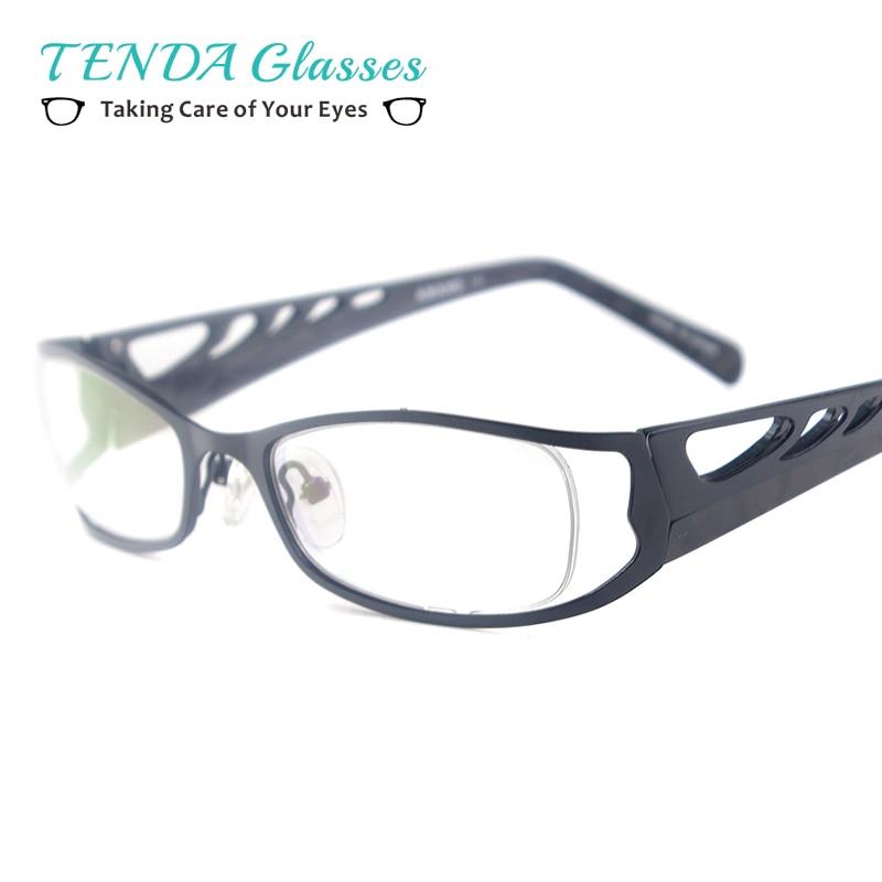 bf11a3ed2 Nuevo Metal de La Manera Enmarcan Gafas De Grau Hombres y Mujeres Miopía  Lentes de Prescripción
