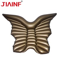JIAINF Inflatable Golden Butterfly Swimming Floating Row Party Toys Giant Butterfly Inflatable Mattress Sale For Adult