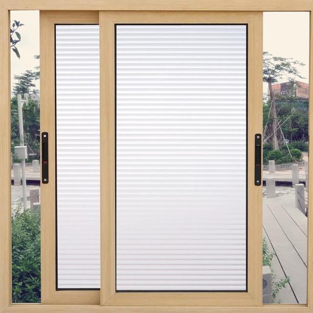 Tende A Vetro 45 Cm.Us 6 08 19 Di Sconto 45 200 Cm Privacy Decorative Window Film Glassato Autoadesivo Autoadesivo Di Vetro Bagno Porta Scorrevole Tende Soggiorno