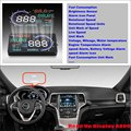 For Jeep Grand Cherokee 2015 2016 Car Head Up Display Saft Driving Screen Projector - Refkecting Windshield