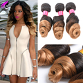Cheap Ombre Brazilian Hair 3 Bundles Loose Wave Virgin Hair Brazilian Virgin Hair Ombre Loose Wave 1B/27 Ombre Human Hair Weave