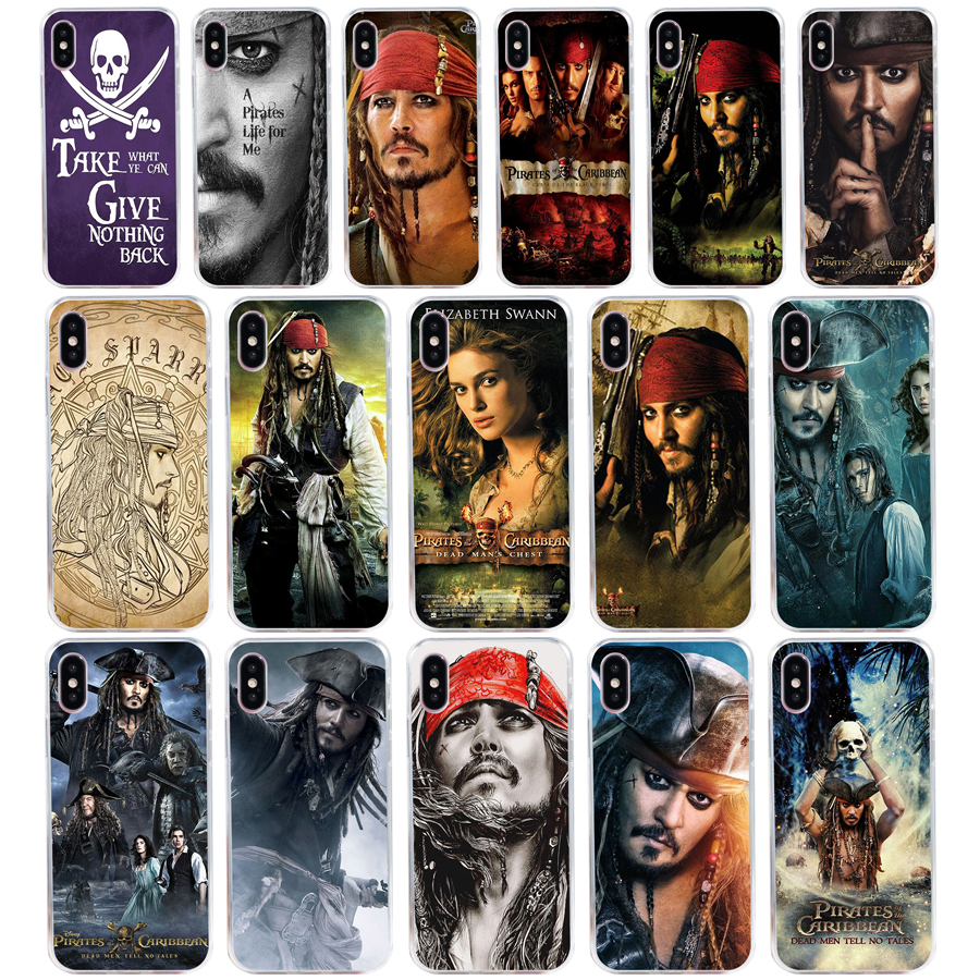 187A Pirates of the Caribbean Johnny Depp Soft Silicone Tpu Cover ...