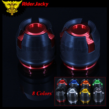 RiderJacky 12mm Motorcycle CNC Front Rear Fork Wheel Frame Slider Crash Pads Falling Protection For HONDA CBR 150 250 300 MXS125
