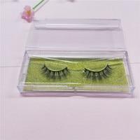 10 pairs 3D Mink Lashes glitter Packing Natural Thick Crisscross False Eyelashes Handmade Fake Eyelashes free shipping